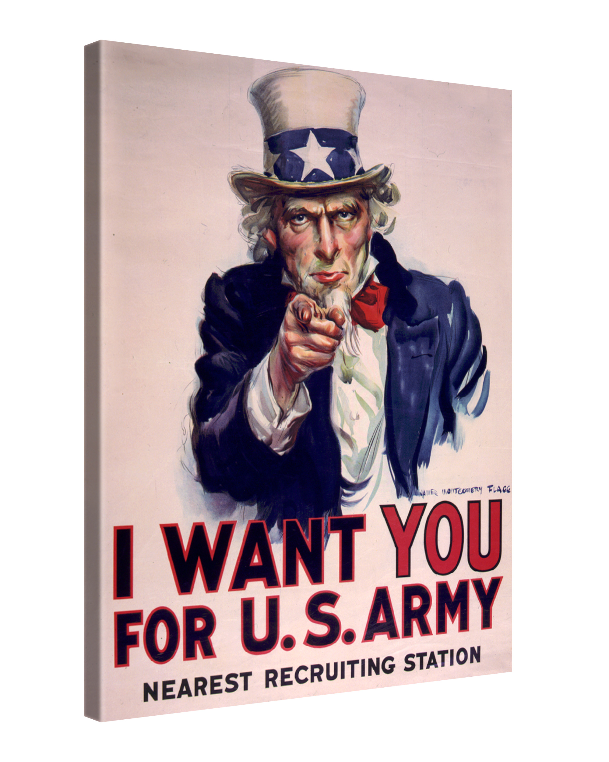 Gallery of Innovative Art Vintage - Uncle Sam - 75x100cm