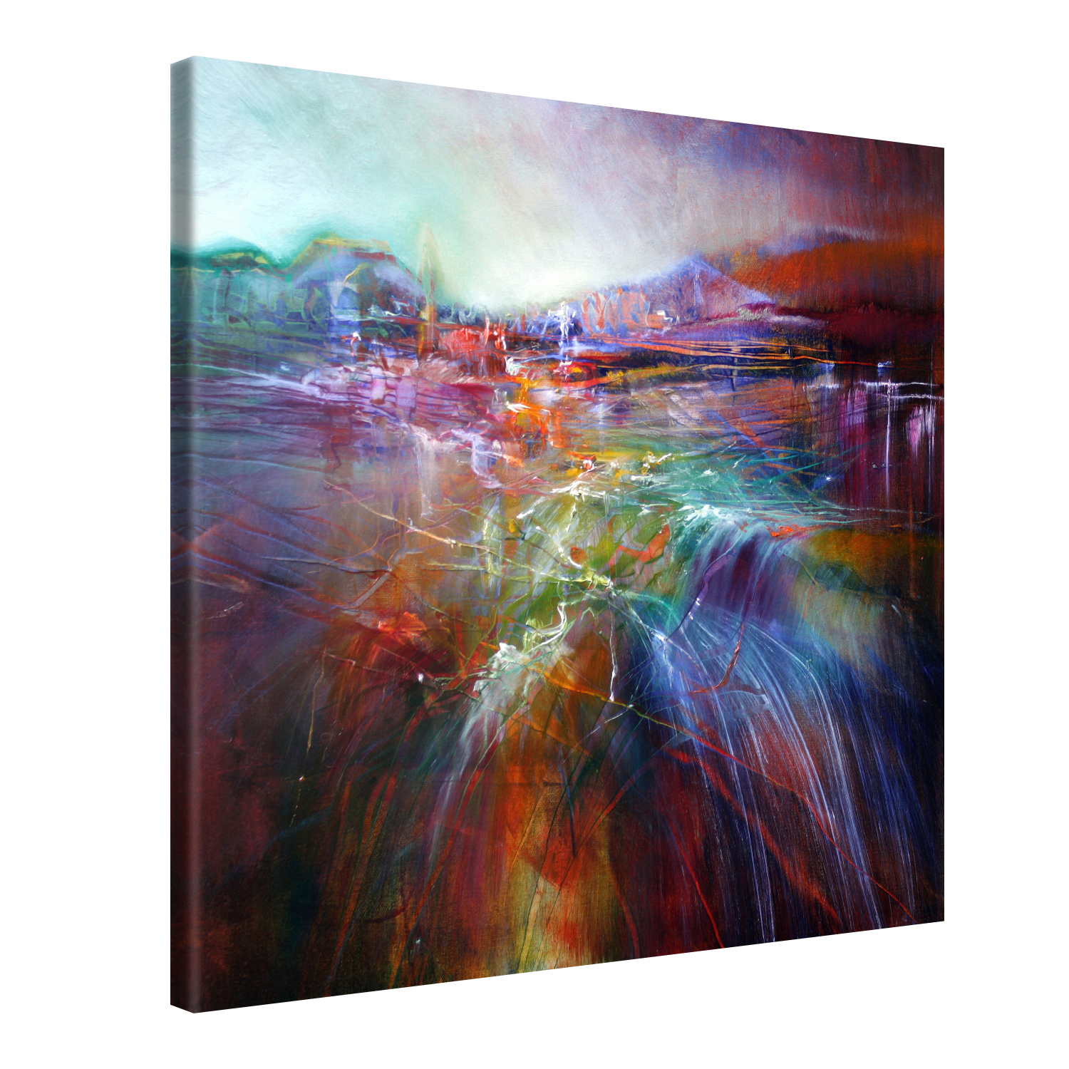 Evening Glory - 80x80 cm - Annette Schmucker #e13176