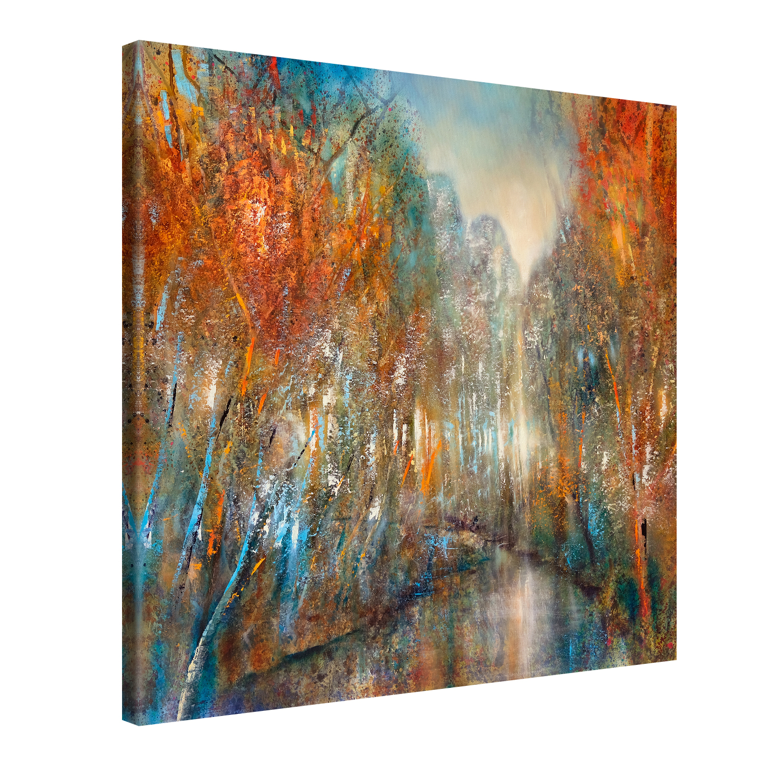 Forest River - 40x40 cm - Annette Schmucker #e13194
