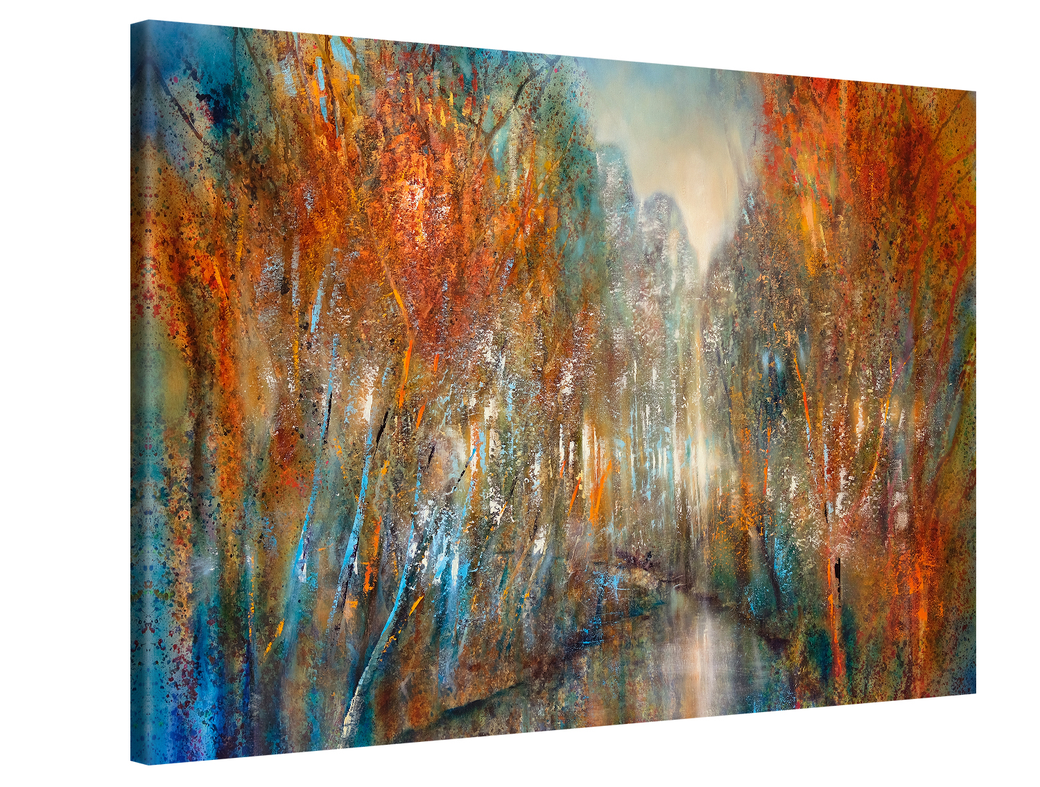 Forest River - 60x40 cm - Annette Schmucker #e13195