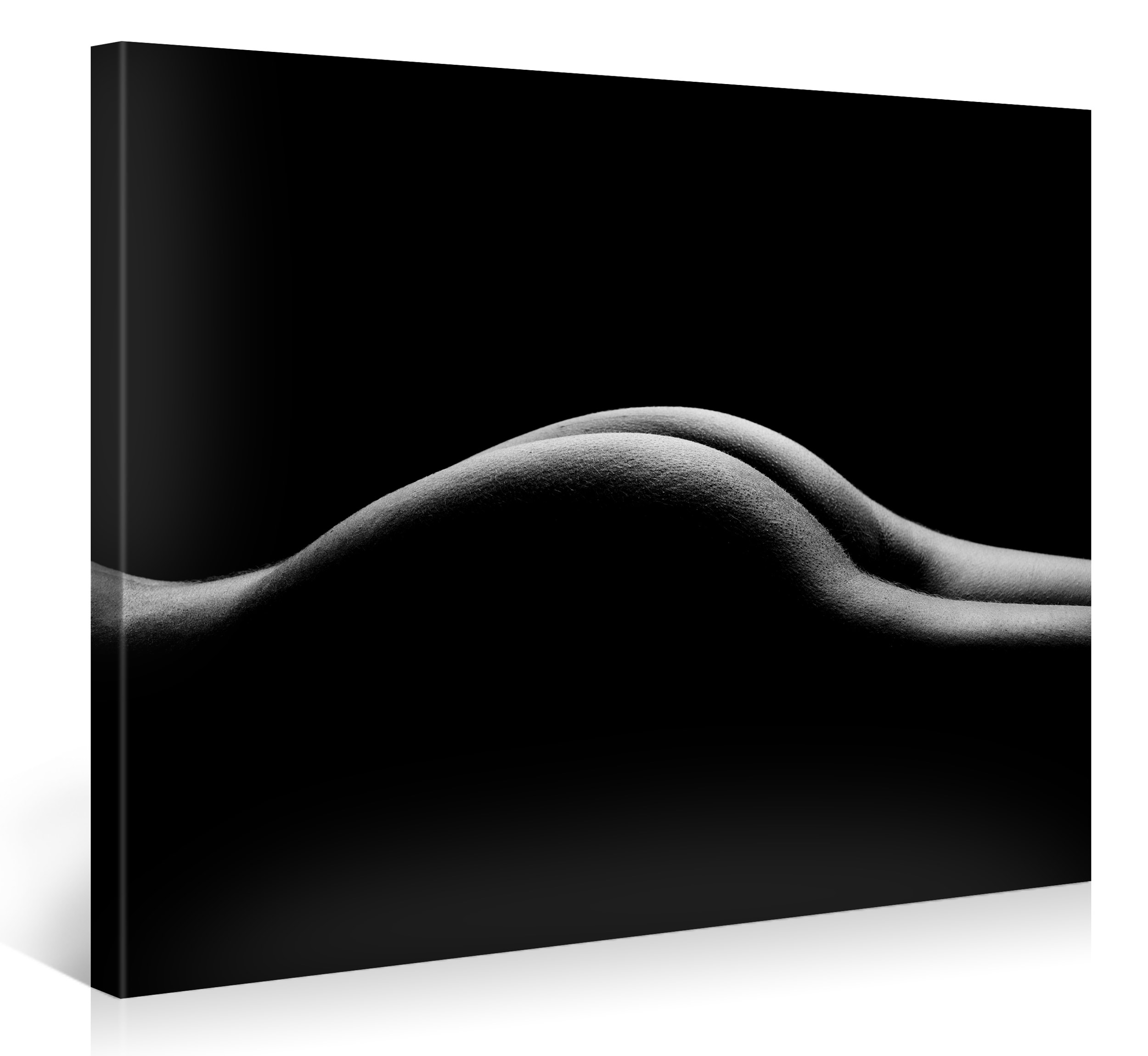 SEXY CURVES BLACK & WHITE - 100x75cm - #e6139